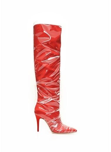 Jimmy Choo Çizme Kırmızı